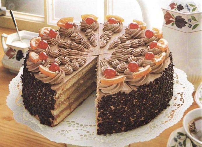 Рецепты праздничных тортов с фото